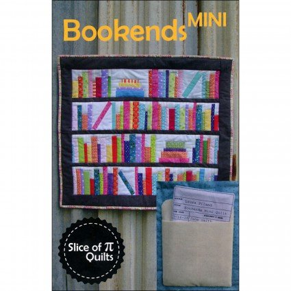 SPQ314 Bookends Mini Quilt Pattern 24 by 28