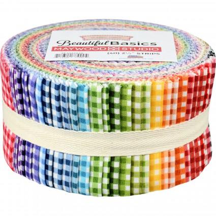 Beautiful Basics Checkered Jelly Roll (40)