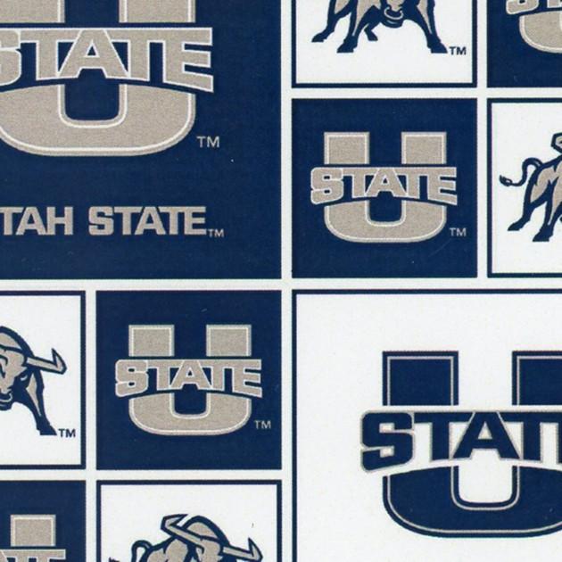 Utah State University Cotton Print