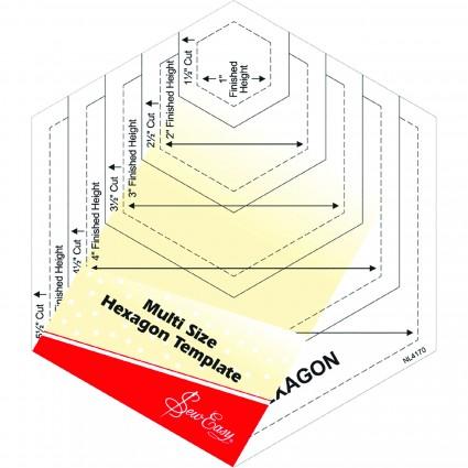 Quilt Hexagon Template