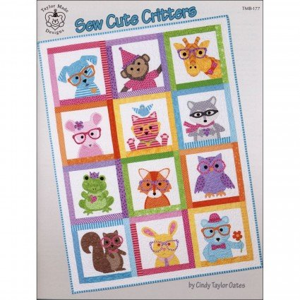 Book - Sew Cute Critters
