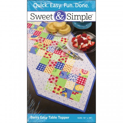 Berry Easy Table Topper