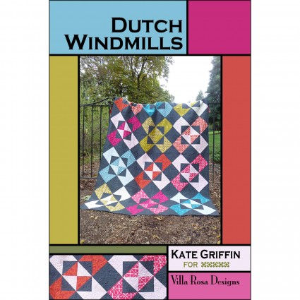 Dutch Windmills Pattern VRDKG008