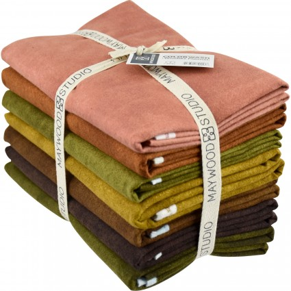 Color Wash Woolies Flannel Woodsy