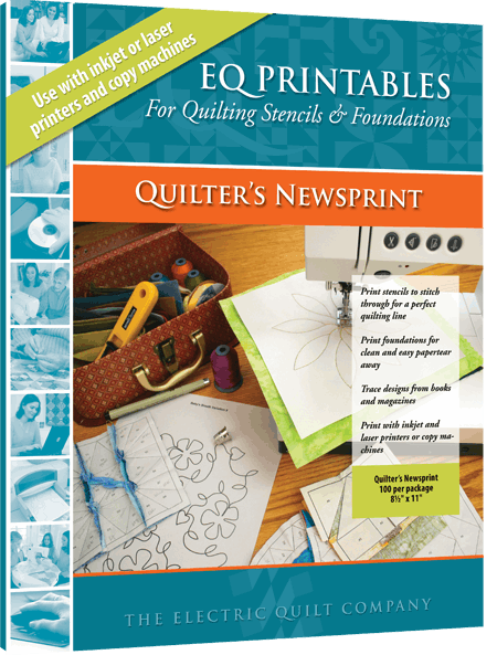Quilter's Newsprint
