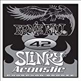 .042 Slinky Acoustic - Phosphor Bronze SINGLE string