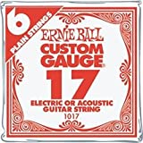 Ernie Ball .017 Plain Stee l (single strings) 6 Pack