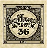 Ernie Ball .036 Earthwood Acoustic - 80/20 Bronze 6 Pack