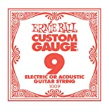EACH: ERNIE BALL .009 SINGLE STG