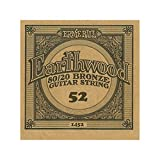 Ernie Ball .052 Earthwood Acoustic - 80/20 Bronze 6 Pack