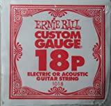 Ernie Ball .018 Plain Steel 6 Pack