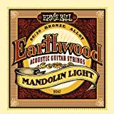 Ernie Ball Earthwood Mandolin Light - 80/20 Bronze Loop End