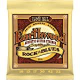 Ernie Ball Earthwood Rock And Blues - Acoustic 80/20 Bronze w/ - Plain G