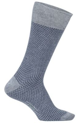 Men's BugsAway Brookside Park Sock Indigo Wash