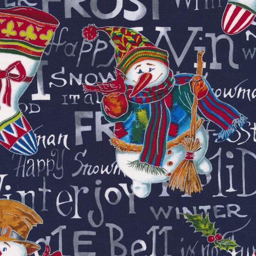 Fabri-Quilt-A Snow Family Christmas 120-13901