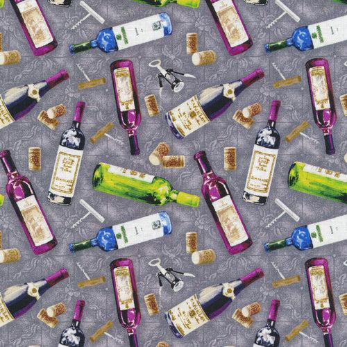 Market Medley Wine Bottles - 120-16101