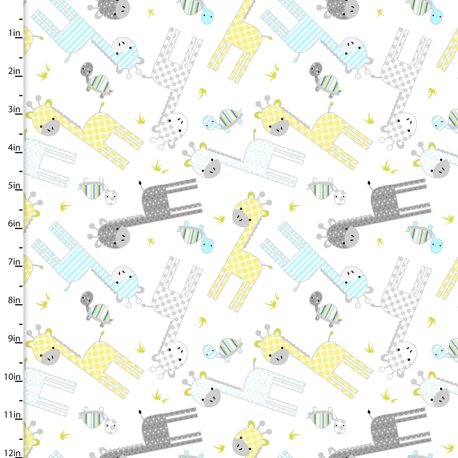 Sanyu  Giraffes 10982-WHITE