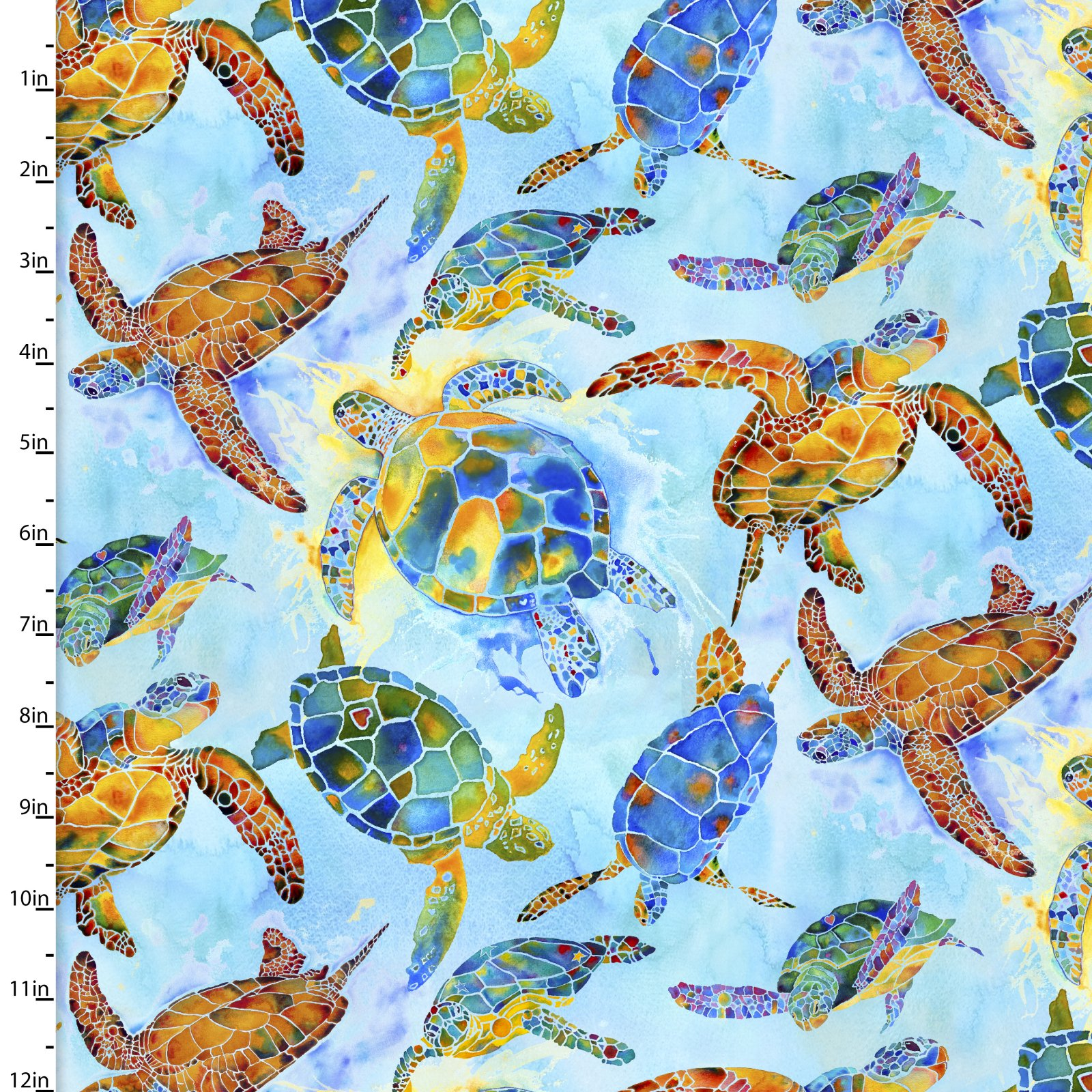 Under the Sea Collection 12280-Lt Blue