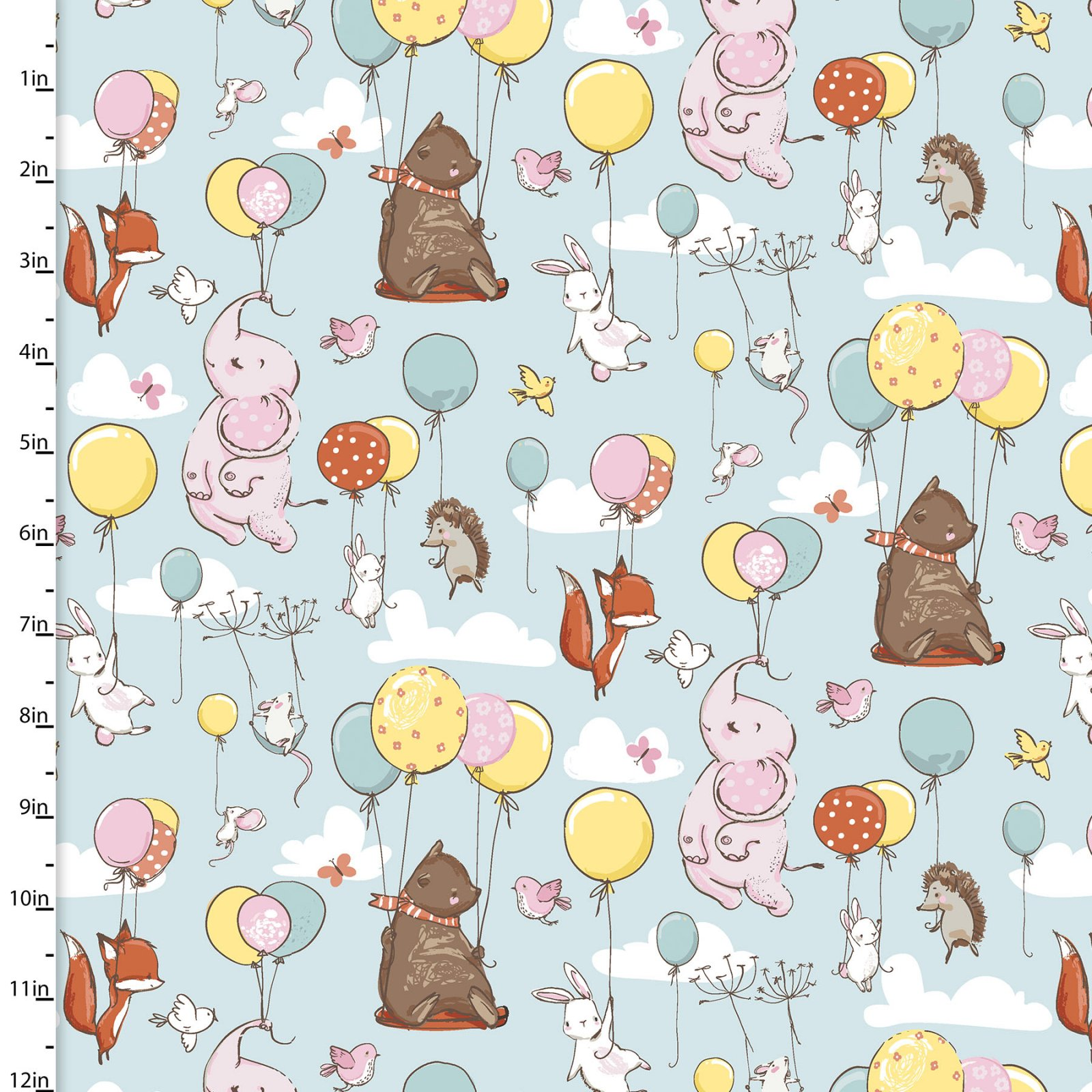 Playful Cuties 3 - Flying High Flannel