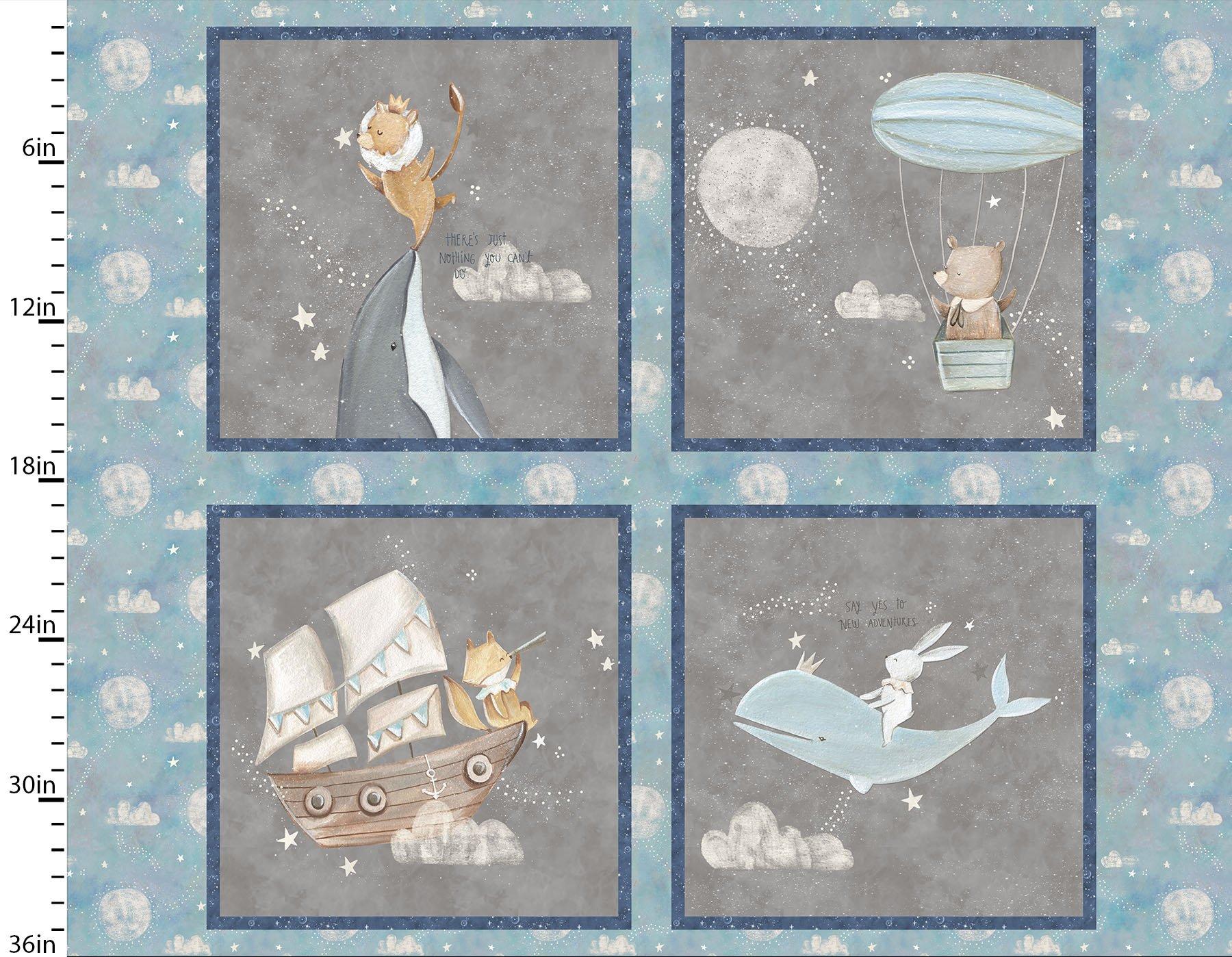 #73 Adventures in he Sky  Panel