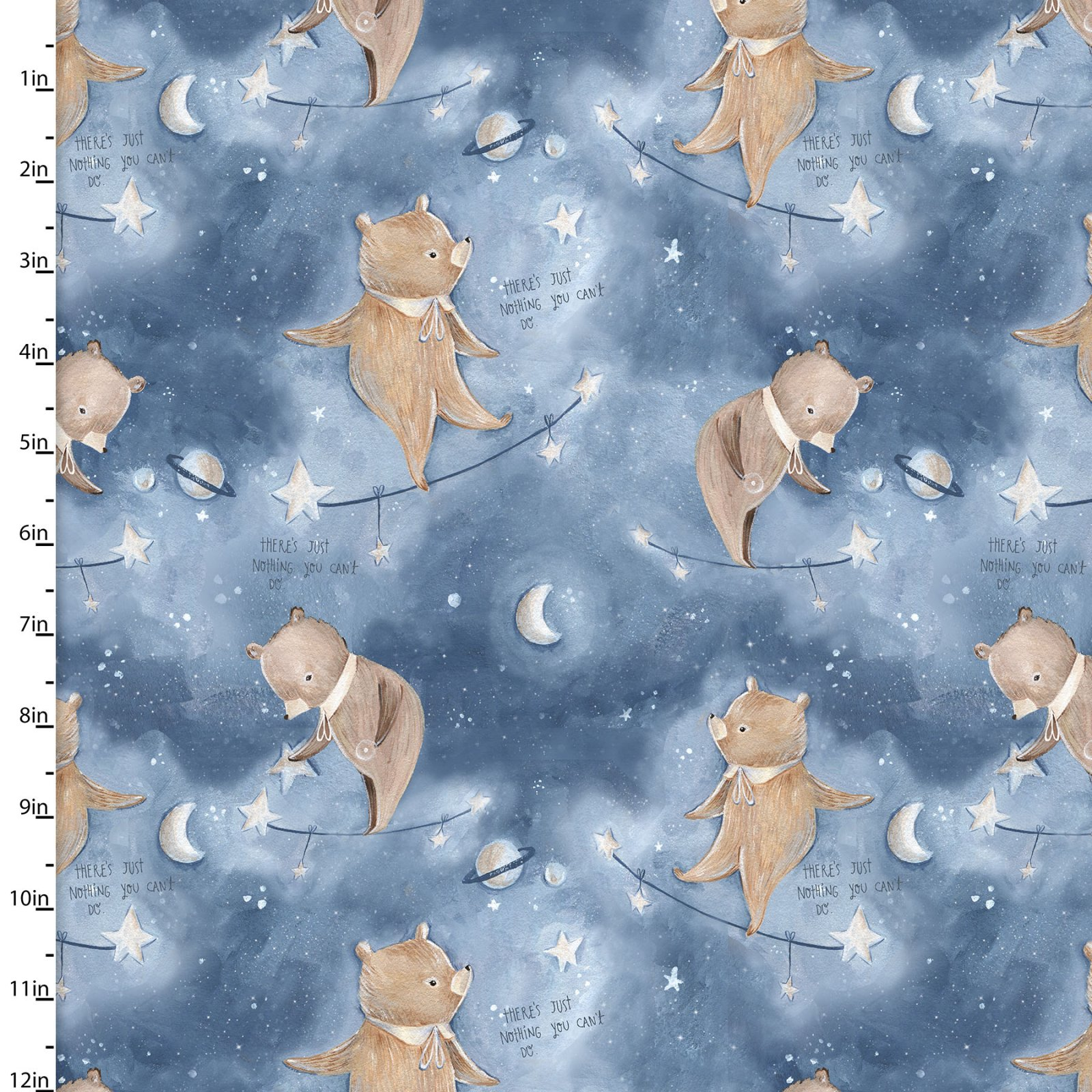 3 Wishes Fabric for Independent Shops Adventures In The Sky by Bianca Pozzi