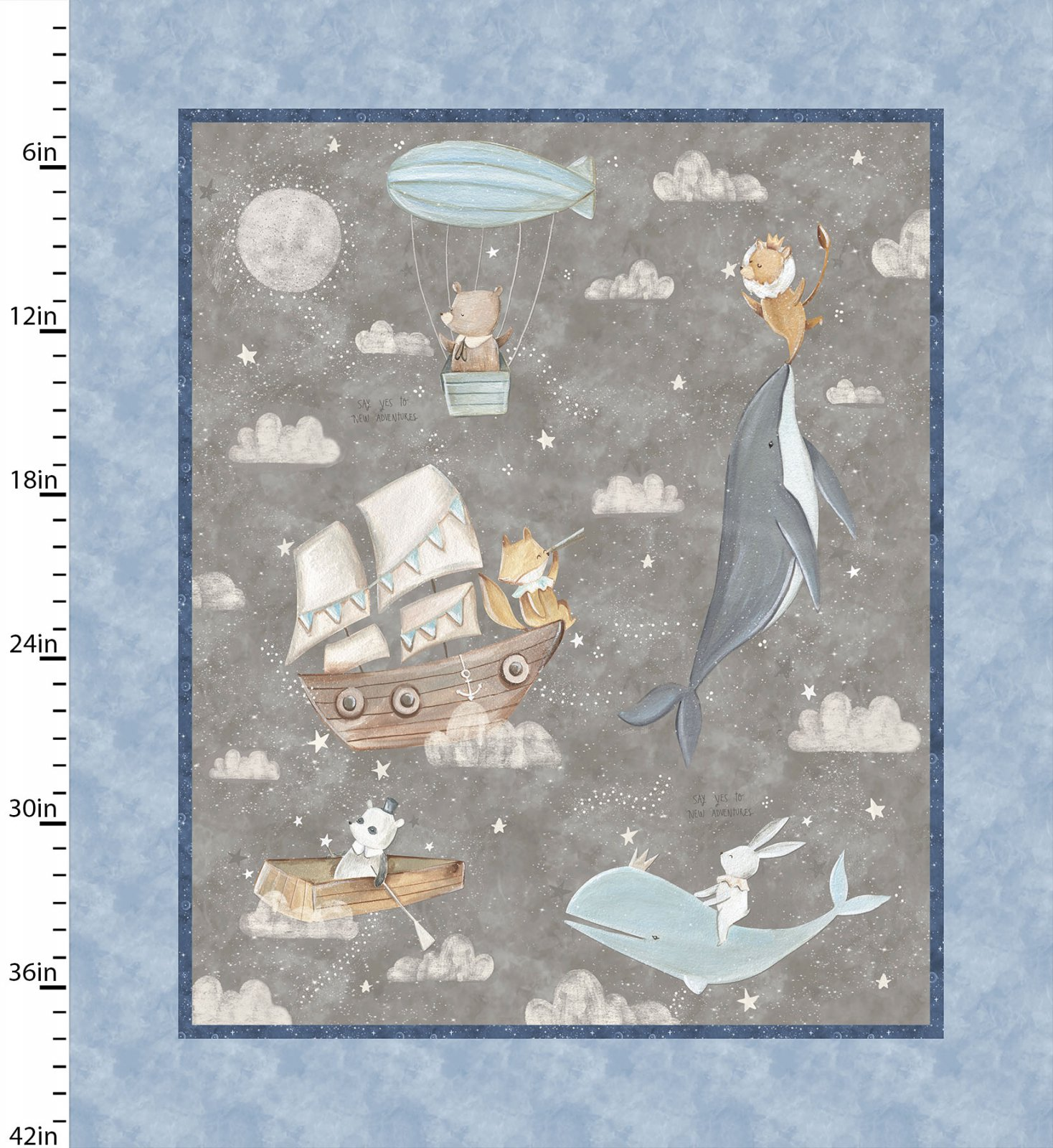 Adventures In The Sky Panel by Bianca Pozzi