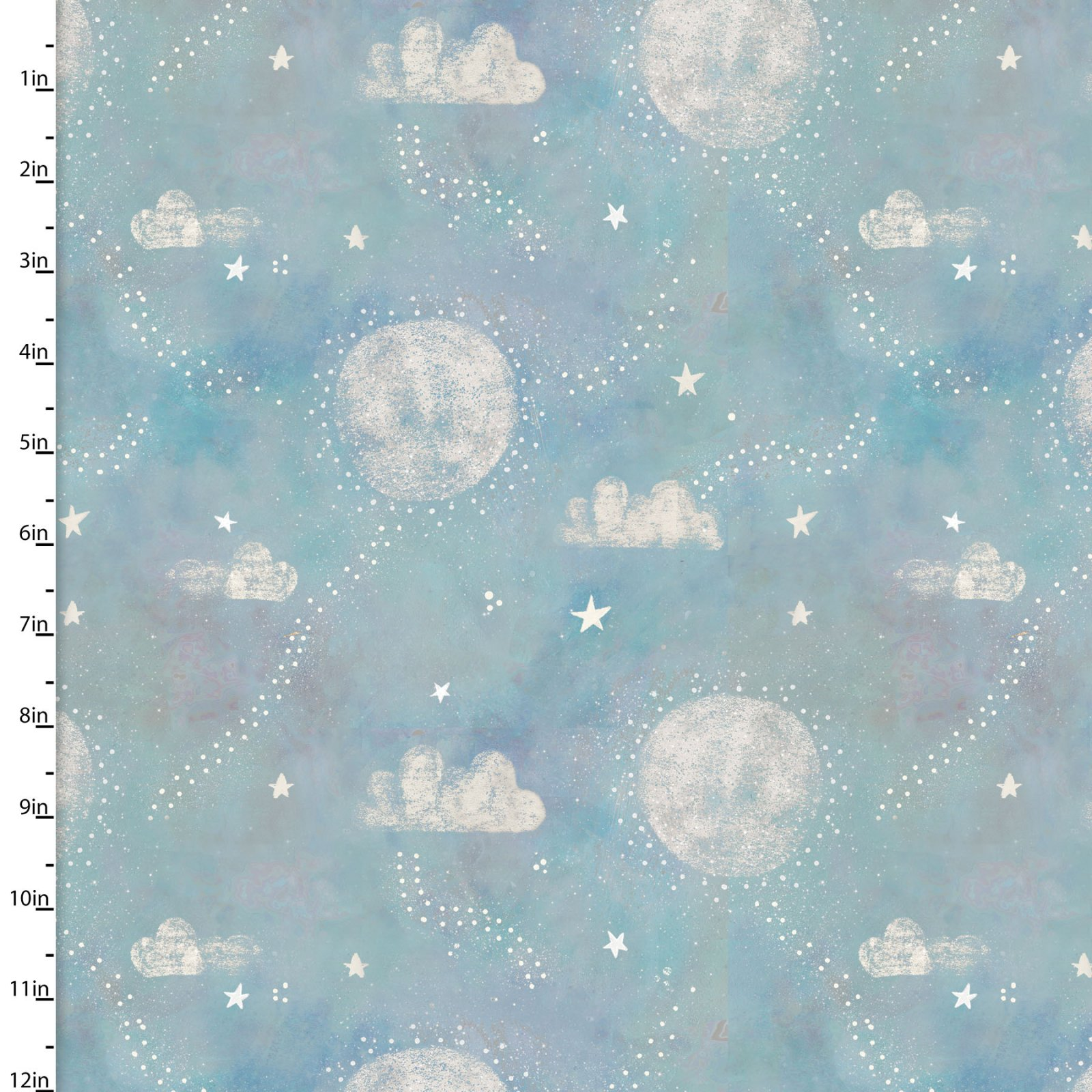 Adventures In The Sky Pathways in Turquoise by Bianca Pozzi