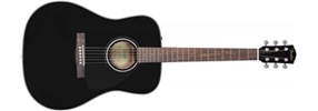 Fender CD-60 Black Acoustic Guitar (used)