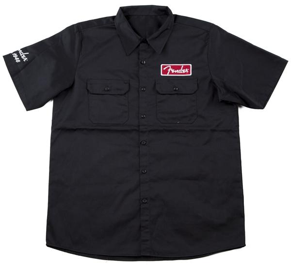 Fender Black Workshirt