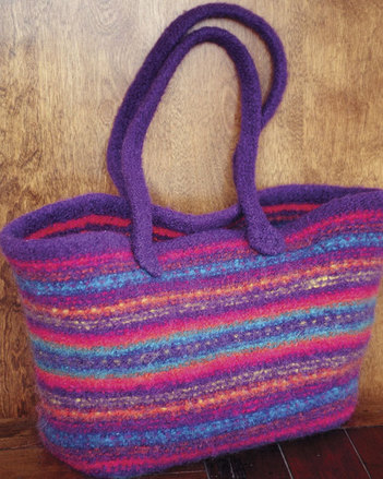 Fiber Trends Maggie's Felt Tote - In two sizes