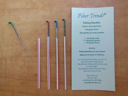 Fiber Trends Needle Felting Needles