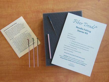 Fiber Trends Needle Felting Kit