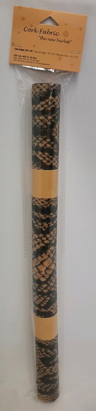 Cork Fabric 18x15 - Snake Print