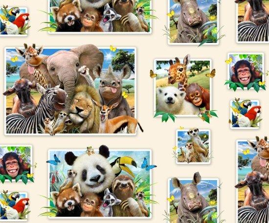 ES-Selfies 1315 Zoo Selfies Photos - Cream