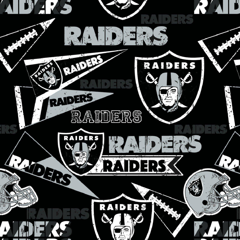 NFL Las Vegas Raiders 14448-D 58 -60 Wide