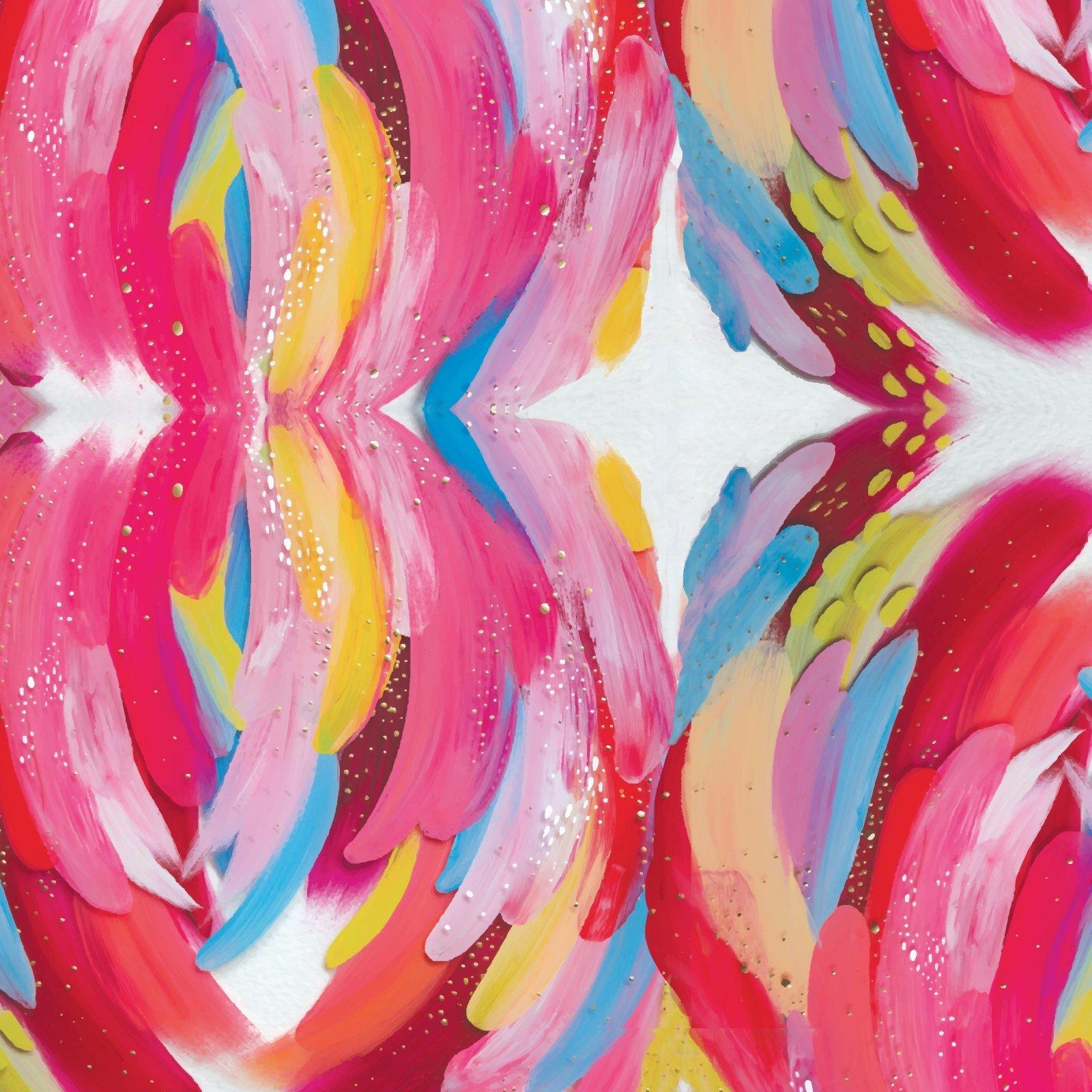 Artsy Brights 14855 Pink - Abstract