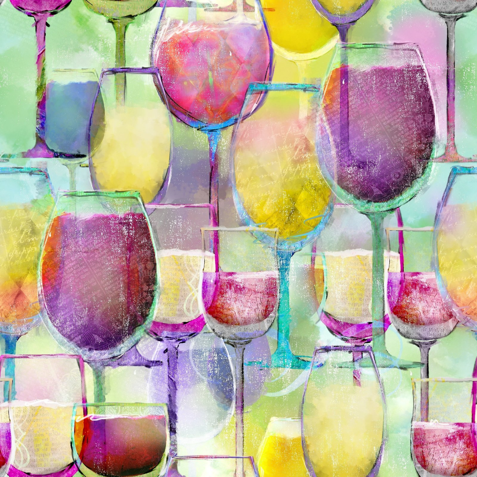 Sip & Snip - Wine Glasses  07/20