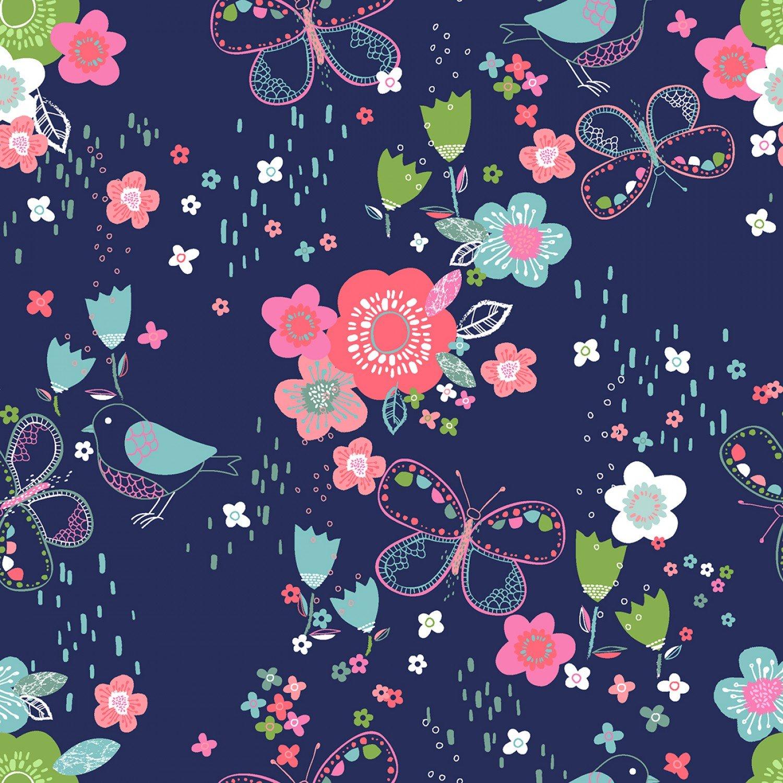 Hello Spring! 15972 Navy Garden