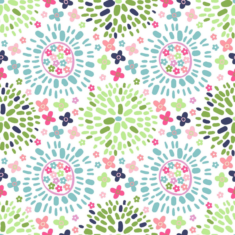 Hello Spring! 15981 White Color Puff