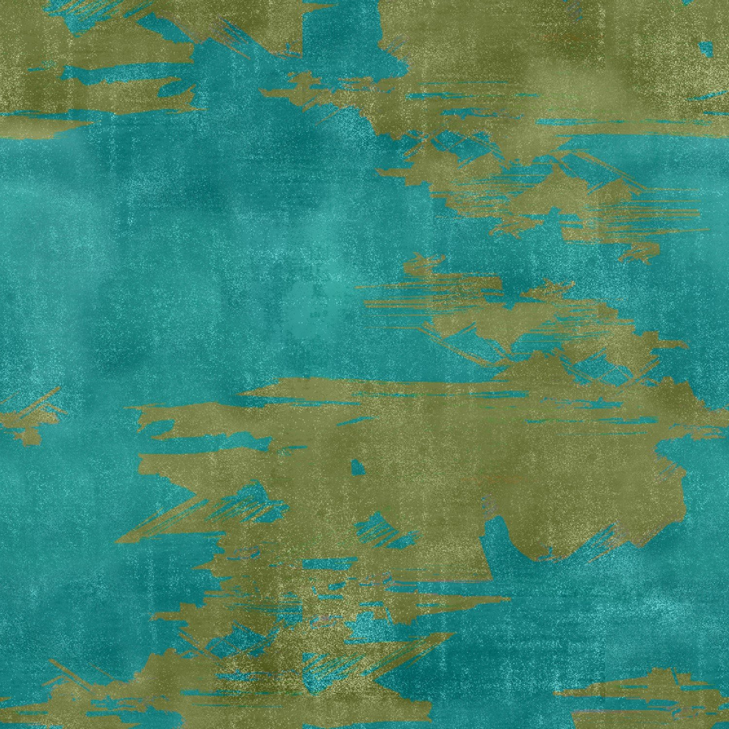 Camo Fabric - Blue The Great Outdoors Collection by Three Wishes Fabric