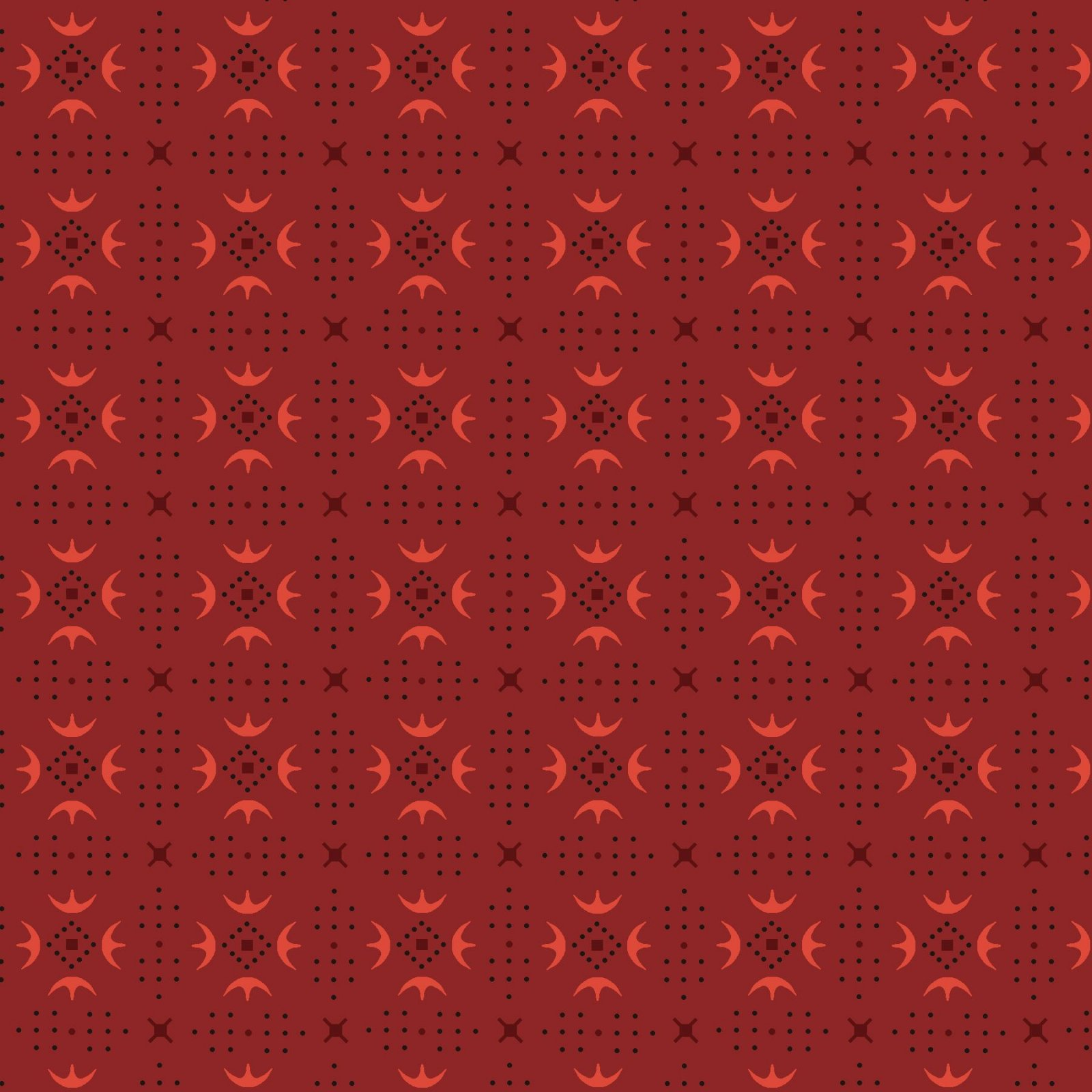 Esther's Heirloom Shirtings 1603-88 Red