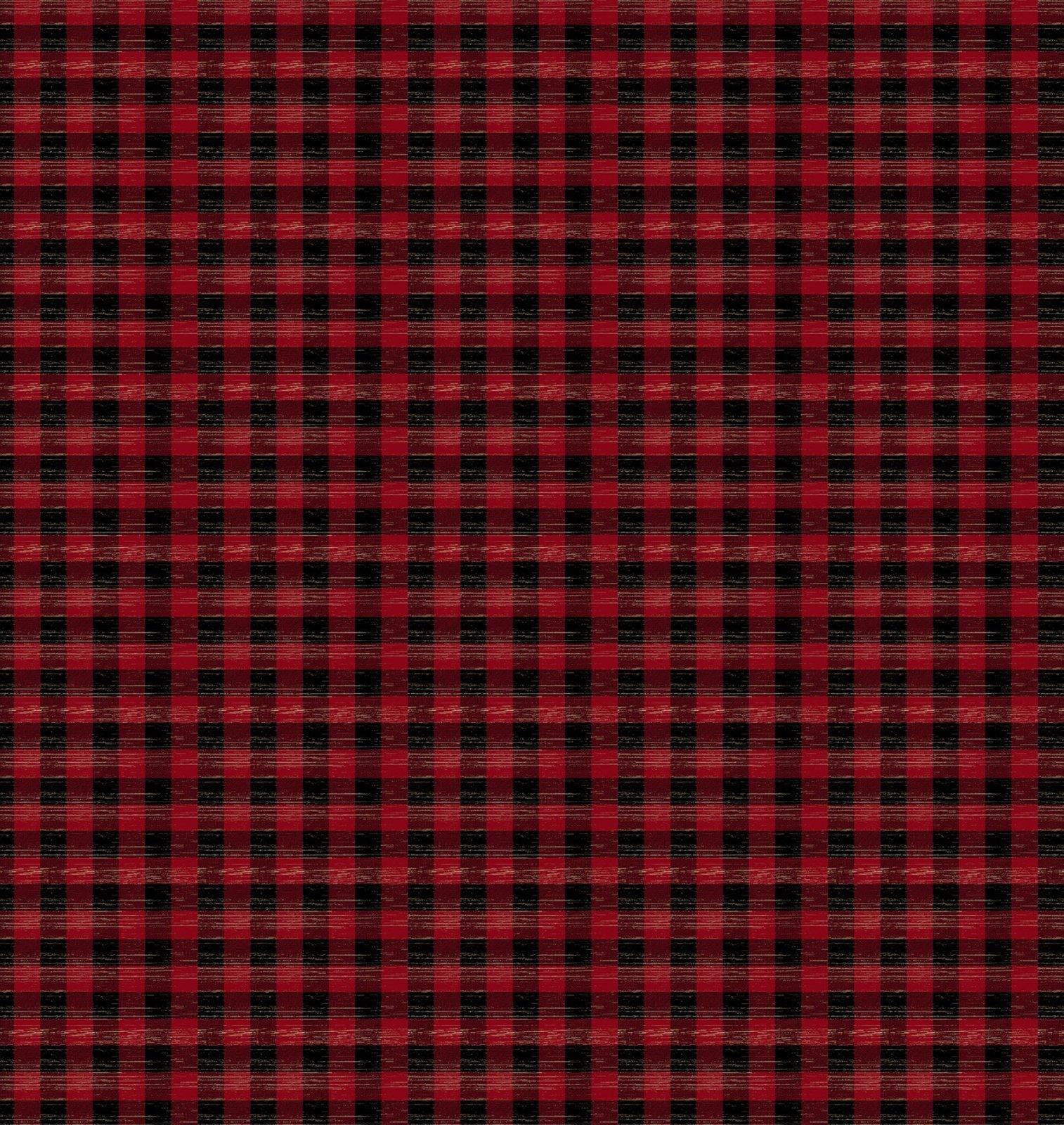 Jingle All The Way Red & Black - Plaid