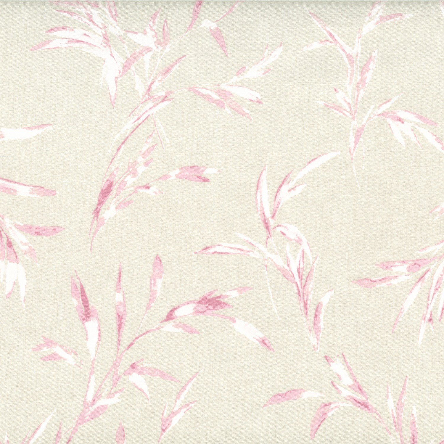 Centenary Collection - Cream w/Pink Leaves