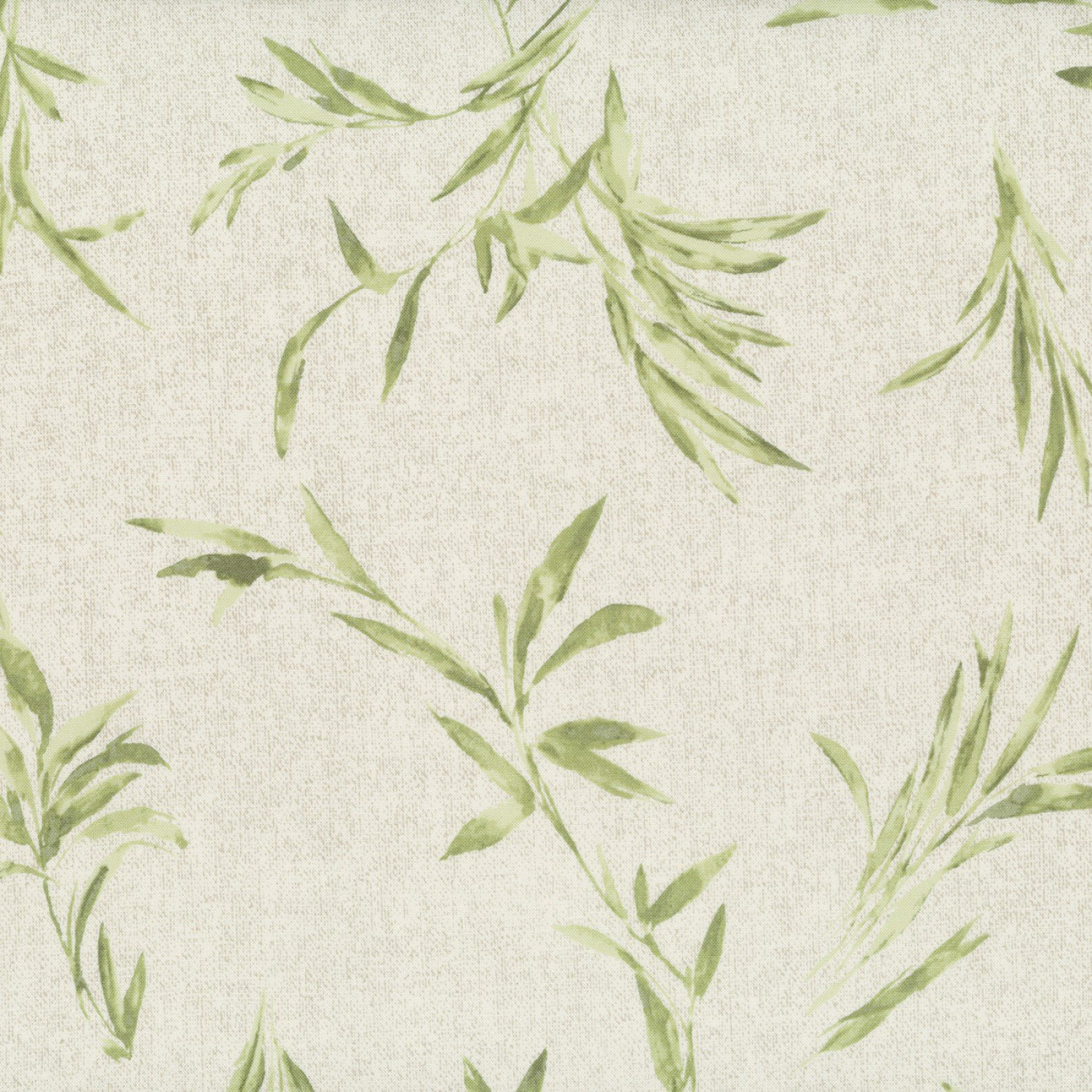 Centenary Collection - Beige w/Green Leaves