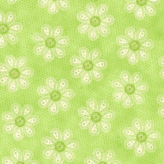 4465-66 Monotone Daisy Green