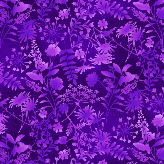 SE-Feather & Flora 4493-58 Wildflower Toss ? Dark Purple