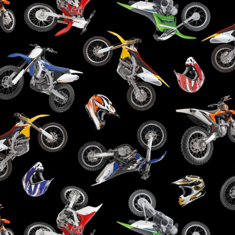 In Motion 458 Black - Motorcross