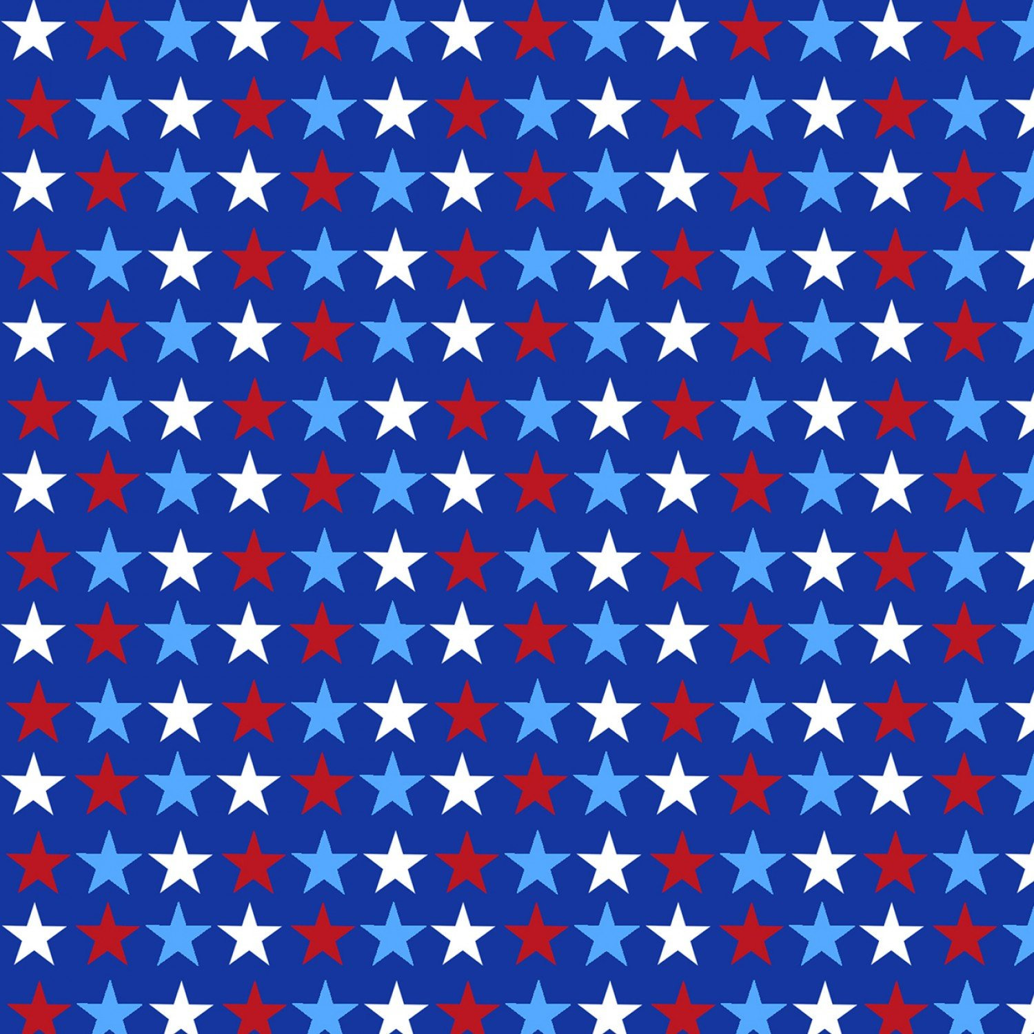 America Home of the Brave 4630-78 Royal Small Stars