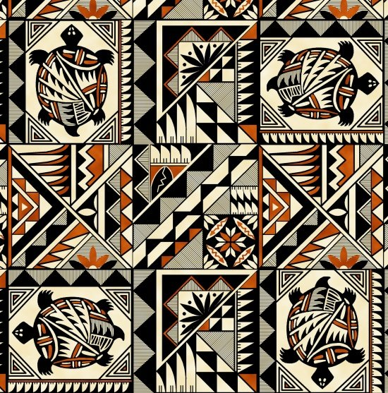 First Nations Prints - Terracotta Pottery