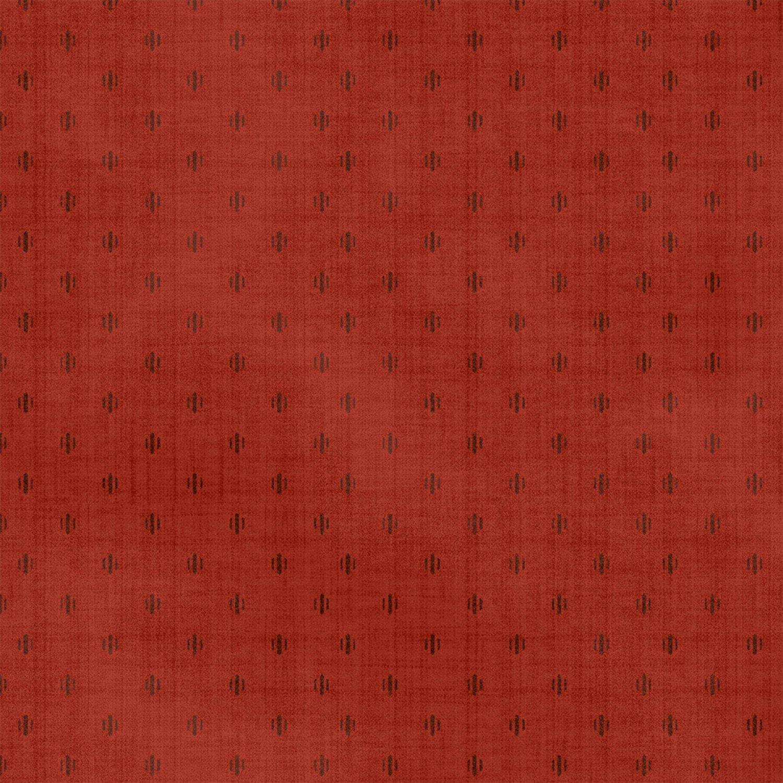 WF-Farmhouse Living 50027-9 Red Dot Foulard